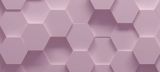 Pink hexagons resized